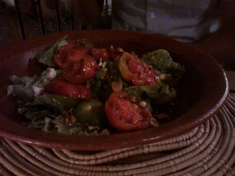 ensalada de jitomate criollo