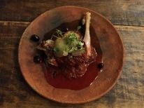 conejo en salsa de garambuyo