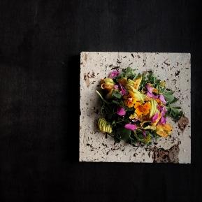 ensalada de flores